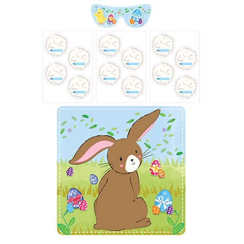Stick The Tail On The Bunny Easter Party Game