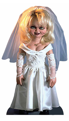 Tiffany Doll Bride Of Chucky Star Mini Cardboard Cutout 75cm Product Gallery Image