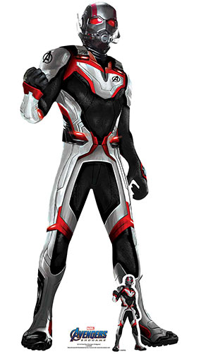 Ant Man Quantum Suit Marvel Avengers Endgame Star Mini Cardboard Cutout 94cm Product Gallery Image