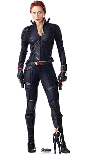 Black Widow Scarlett Johansson Marvel Avengers Endgame Lifesize Cardboard Cutout 170cm Product Gallery Image