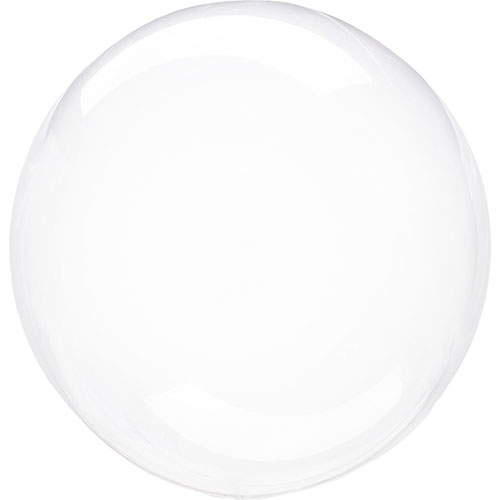 Clear Crystal Clearz Helium Balloon 46cm / 18 in