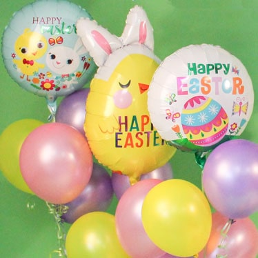 Easter Party Balloons