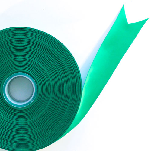 Green Satin Faced Ribbon Reel 38mm x 91m Product Image
