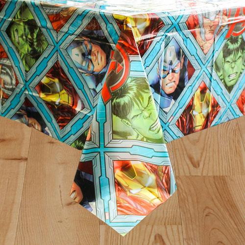 Marvel Avengers Plastic Tablecover 180cm x 120cm