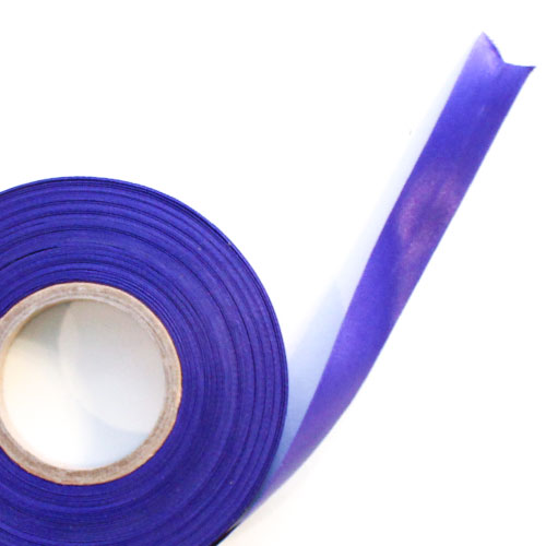 Purple Satin Faced Ribbon Reel 15mm x 50m Product Image