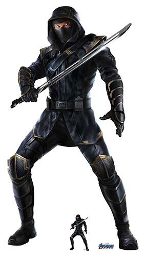Ronin Hawkeye Jeremy Renner Marvel Avengers Endgame Lifesize Cardboard Cutout 178cm Product Gallery Image