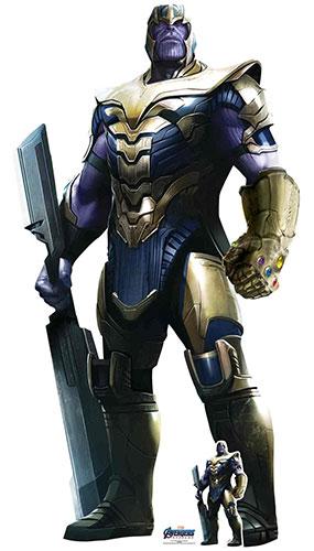 Thanos Josh Brolin Marvel Avengers Endgame Lifesize Cardboard Cutout 193cm Product Gallery Image