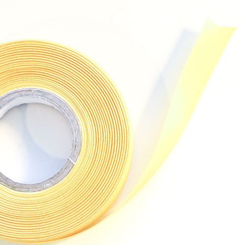 Yellow Satin Faced Ribbon Reel 15mm x 25m Product Image