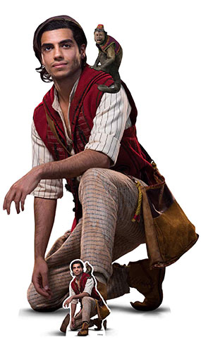 Aladdin And Abu Mena Massoud Live Action Lifesize Cardboard Cutout 129cm Product Gallery Image