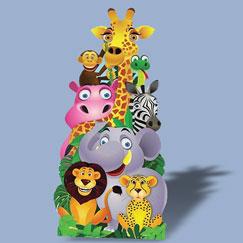 Animal Life Size Cardboard Cutouts