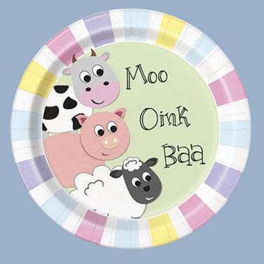 Farm Animals Party Supplies