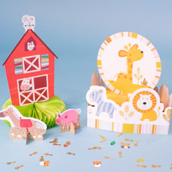 Animal Table Decorations
