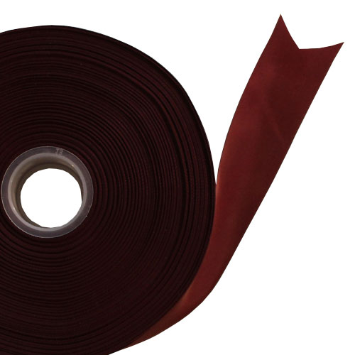 Burgundy Satin Faced Ribbon Reel 38mm x 91m Product Image