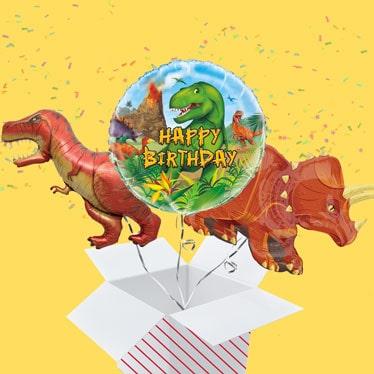 Dinosaur Balloon In A Box