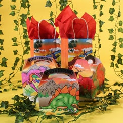 Dinosaur Party Bags And Boxes