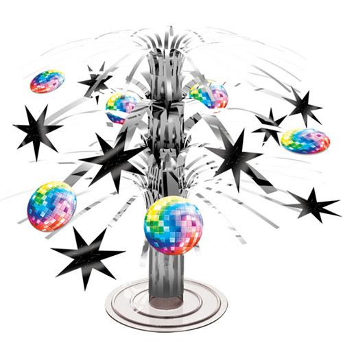 disco-mini-cascade-centrepiece-table-decoration-21cm-product-image