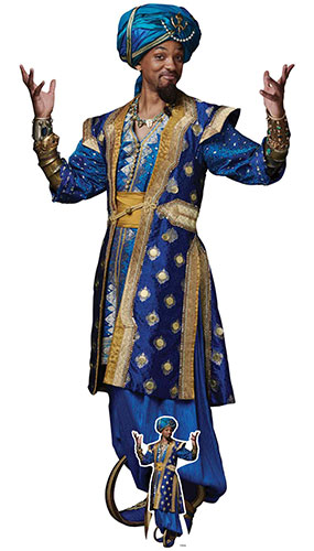 Genie Will Smith Aladdin Live Action Lifesize Cardboard Cutout 188cm Product Gallery Image