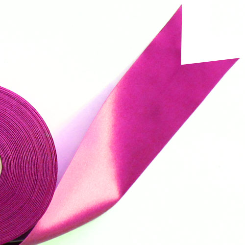 Hot Pink Satin Faced Ribbon Reel 45mm x 50m Product Image