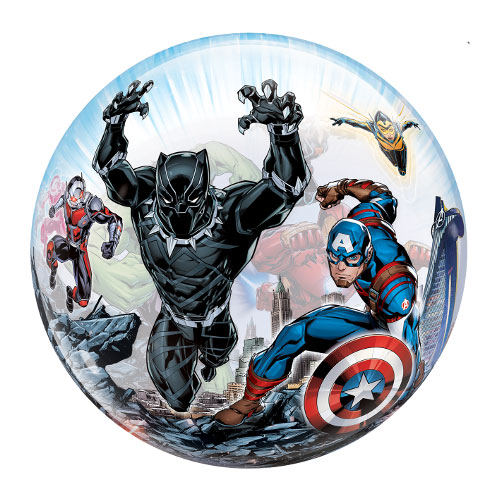 Marvel Avengers Bubble Helium Qualatex Balloon 56cm / 22 Inch Product Gallery Image