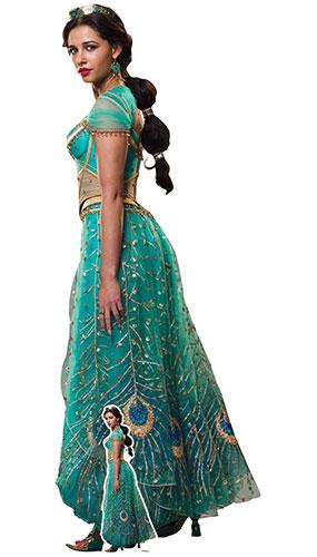 Princess Jasmine Naomi Scott Aladdin Live Action Lifesize Cardboard Cutout 168cm Product Gallery Image