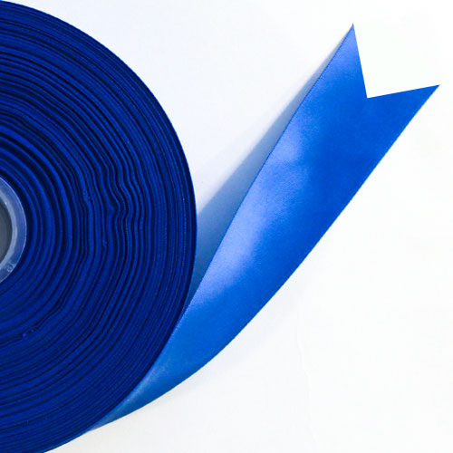 Royal Blue Satin Faced Ribbon Reel 25mm x 50m Product Image