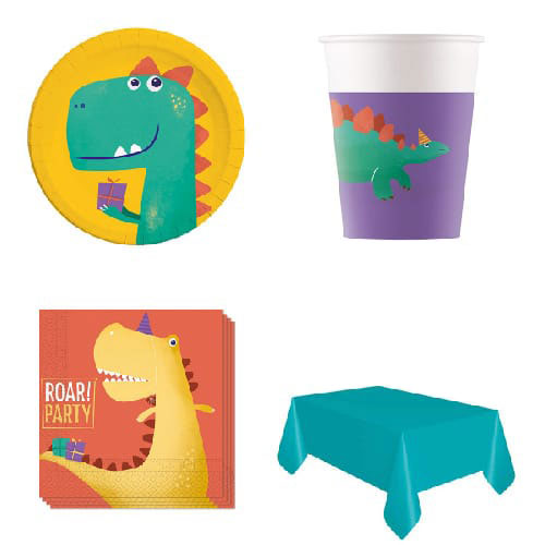 Dinosaur Roar 8 Person Value Party Pack