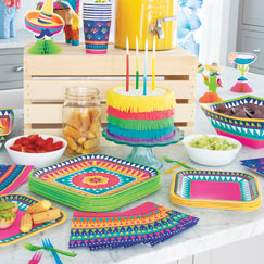Boho Fiesta Party Supplies
