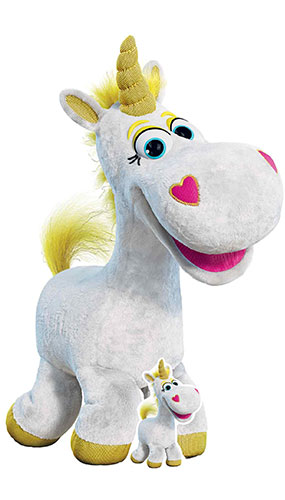 Buttercup Unicorn Toy Story 4 Lifesize Cardboard Cutout 133cm Product Gallery Image
