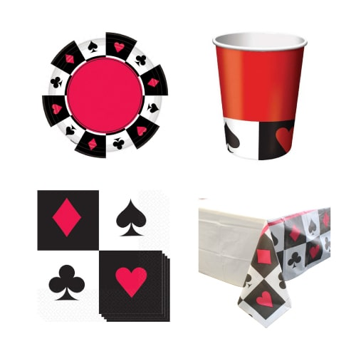 Casino 8 Person Value Party Pack
