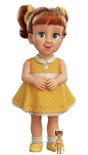 Gabby Gabby Doll Yellow Dress Toy Story 4 Lifesize Cardboard Cutout 164cm Product Gallery Image