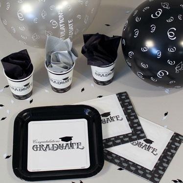 Graduation Party Tableware