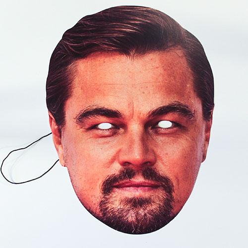 Leonardo DiCaprio Cardboard Face Mask