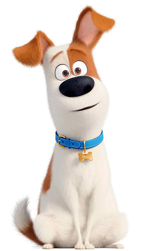 Max Terrier Dog Secret Life of Pets Star Mini Cardboard Cutout 89cm Product Gallery Image