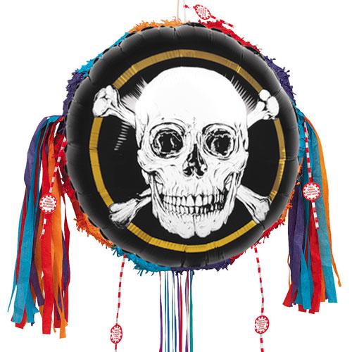 Pirates Gold Pull String Pinata Product Image