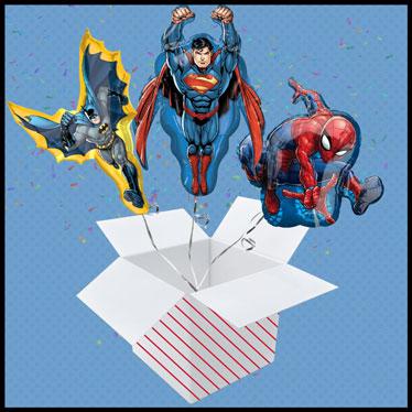 Superhero Balloon In A Box