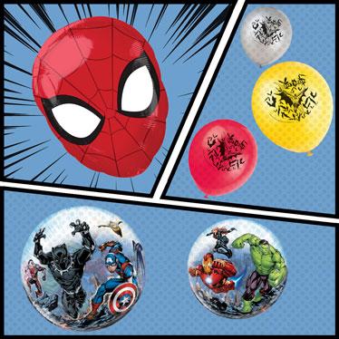 Superhero Balloons
