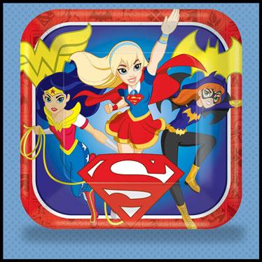 DC Super Hero Girls Party Supplies