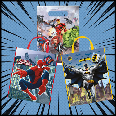 Superhero Party Bags And Boxes