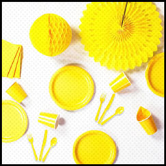 Yellow Party Supplies