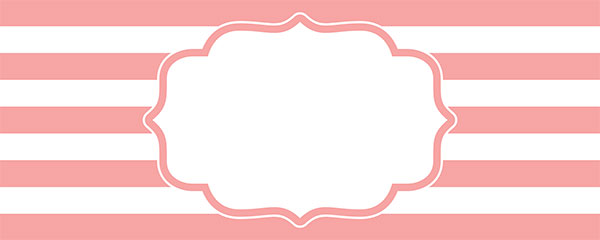 Christening Pink Design Small Personalised Banner – 4ft x 2ft