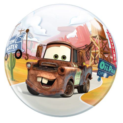 Disney Pixar Cars Lightning McQueen And Mater Bubble Helium Qualatex Balloon 56cm / 22 in Product Gallery Image