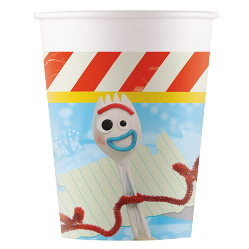 Disney Pixar Toy Story 4 Paper Cups 200ml - Pack of 8