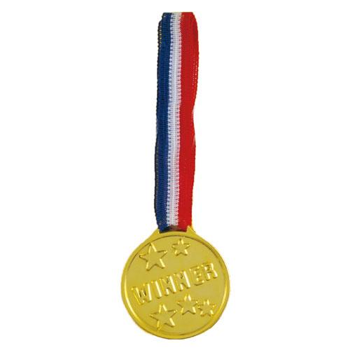 Gold Plastic Winners Medal