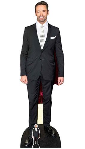 Hugh Jackman Polka Dot Tie Lifesize Cardboard Cutout 189cm