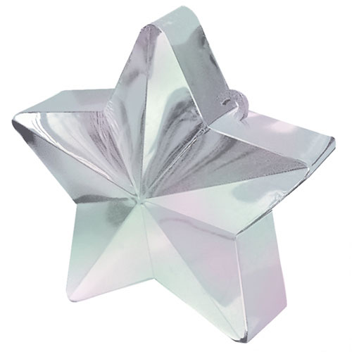 Iridescent Star Balloon Weight Product Image