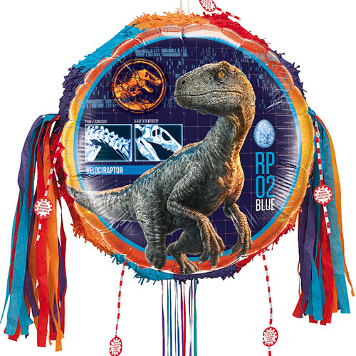 Jurassic World Dinosaurs Pull String Pinata
