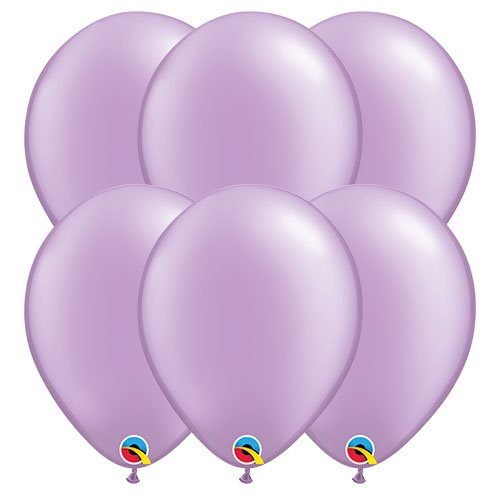 Pearl Lavender Round Latex Qualatex Balloons 28cm / 11 in – Pack of 10