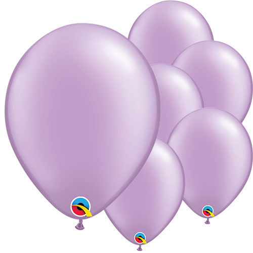 Pearl Lavender Round Latex Qualatex Balloons 28cm / 11 in – Pack of 100