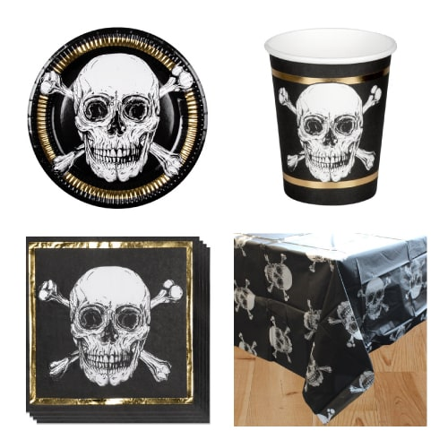 Pirates Gold 6 Person Value Party Pack