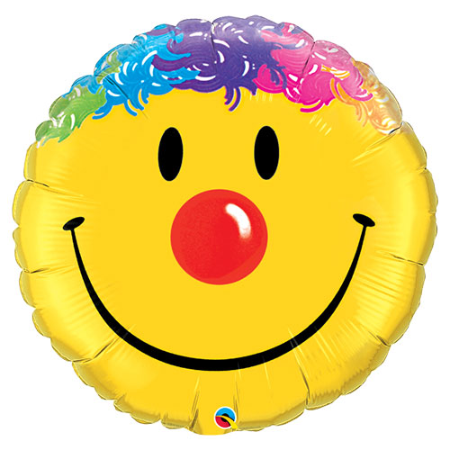 Smile Face Supershape Helium Foil Qualatex Balloon 91cm / 36 in Product Image